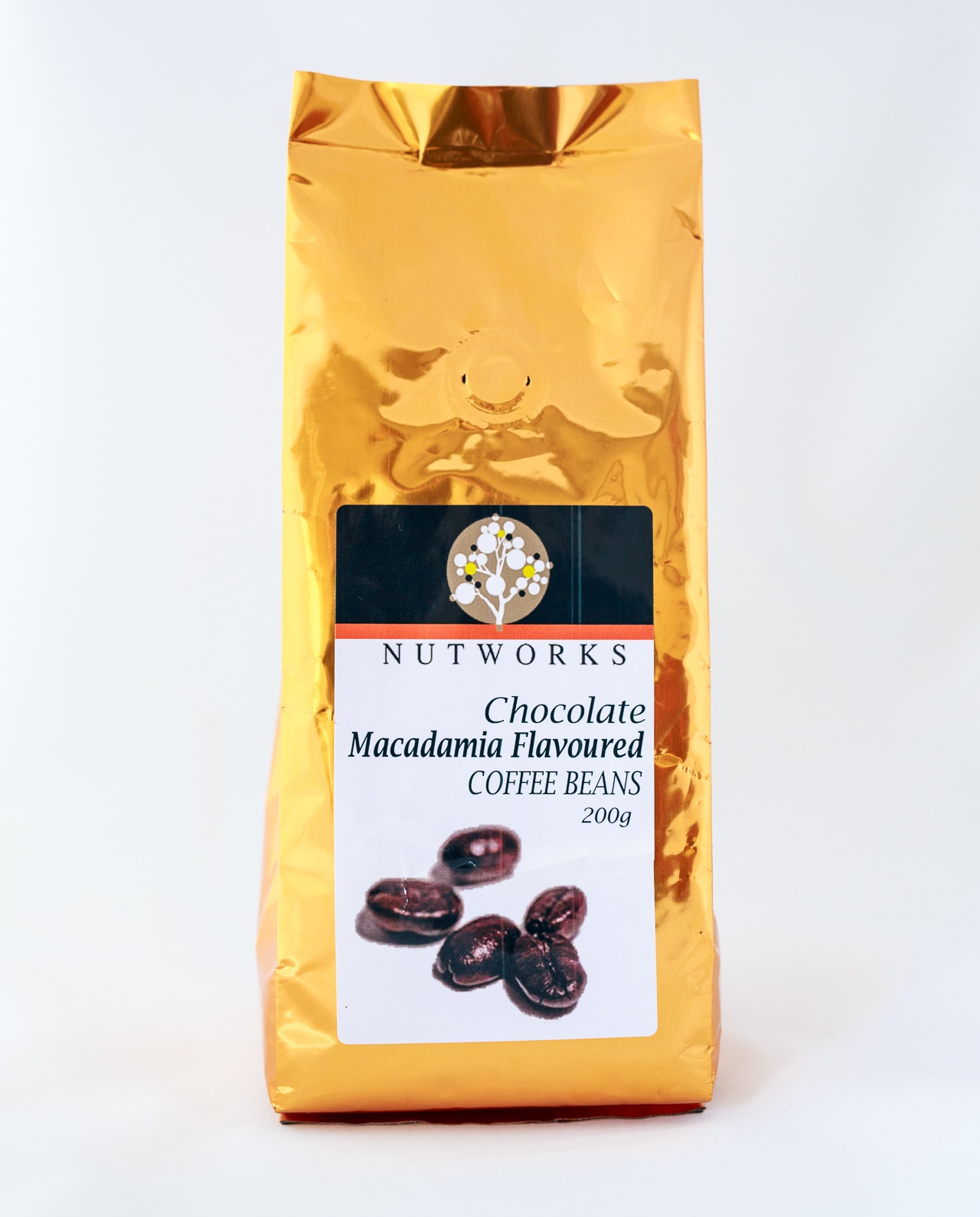 Chocolate Macadamia Coffee Beans